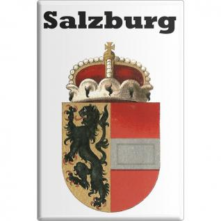 Magnet - Salzburg - Gr. ca. 8 x 5, 5 cm - 38111 - Küchenmagnet