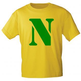 """Marken T-Shirt mit brillantem Aufdruck """" N"""" 85121-N L"""