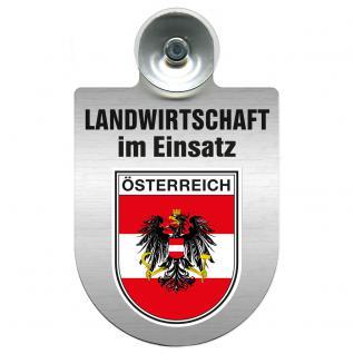 Einsatzschild für Windschutzscheibe incl. Saugnapf - Landwirtschaft im Einsatz - 309460 - Österreich