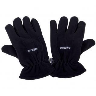 Handschuhe mit Einstickung - TRABI - 31534 - schwarz