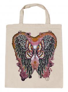 (U10807)Umweltfreundliche Baumwoll - Tasche , ca. 28 x 43 cm mit Aufdruck in 7 Farben natur
