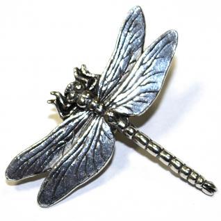 Anstecknadel - Metall - Pin - Libelle - Größe ca 40 x 35 mm - 02889