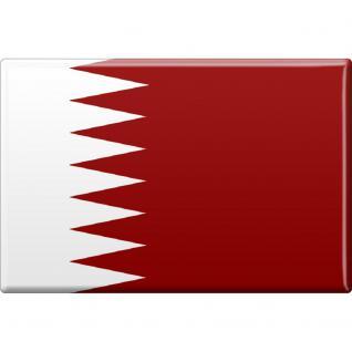 Kühlschrankmagnet - Flagge Fahne Bahrain - Gr.ca. 8x5, 5 cm - 38059/1 - Magnet