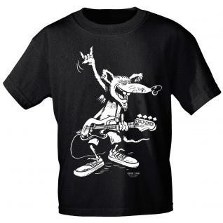 Designer T-Shirt - Bass Rat - von ROCK YOU MUSIC SHIRTS - 10164 - Gr. XXL