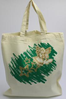 Shopper Baumwolle - Engel Sterne Weihnachten - 40179