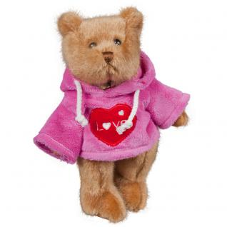 Plüsch- Teddybär mit Pulli - Love - Größe ca 30 cm - 27154