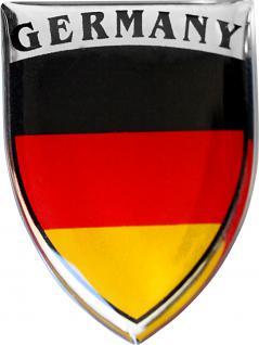 3D-EPOXY Aufkleber - Germany - 303801-2 - Gr. ca. 2, 5 x 3, 1 cm
