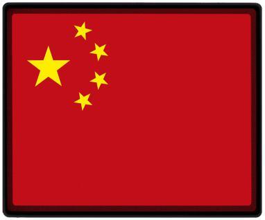 Mousepad Mauspad mit Motiv - China Fahne Fußball Fußballschuhe - 82037 - Gr. ca. 24 x 20 cm