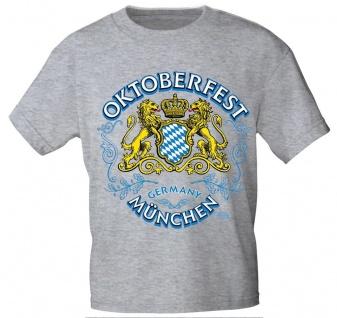 T-Shirt mit Print - Oktoberfest München - 10561 Gr. S-2XL