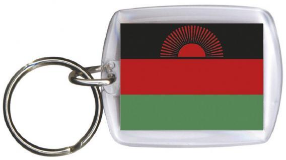Schlüsselanhänger - MALAWI - Gr. ca. 4x5cm - 81098 - Keyholder WM Länder