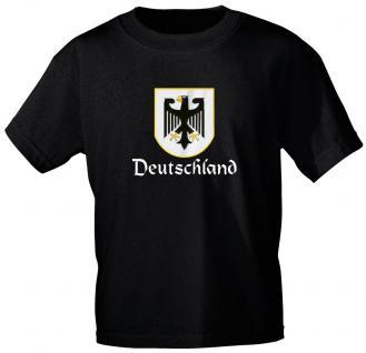 T-Shirt unisex mit Aufdruck - DEUTSCHLAND - Gr. L