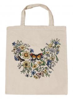 (U09840)Umweltfreundliche Baumwoll - Tasche , ca. 28 x 43 cm mit Aufdruck in 7 Farben natur
