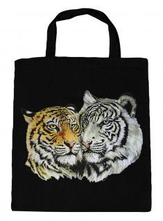 (08870/3-schwarz) Umweltfreundliche Baumwoll - Tasche , ca. 28 x 43 cm mit Aufdruck