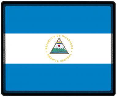 Mousepad Mauspad mit Motiv - Nicaragua Fahne Fußball Fußballschuhe - 82118 - Gr. ca. 24 x 20 cm