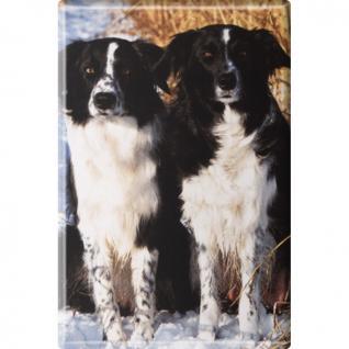 Kühlschrankmagnet - Hunde - Gr. ca. 8 x 5, 5 cm - 38426 - Magnet Küchenmagnet