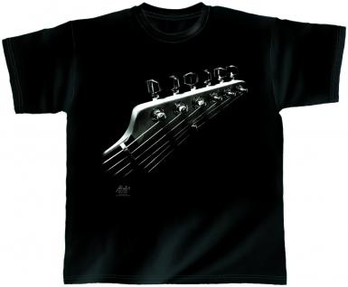 Designer T-Shirt - Space Guitar - von ROCK YOU MUSIC SHIRTS - 10382 - Gr. S-XXL