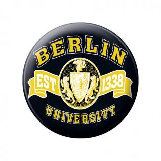 Magnetbutton - Berlin EST 1328 University - 16833 - Gr. ca. 5, 7 cm
