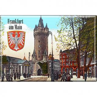 Magnet - Frankfurt am Main - Gr. ca. 8 x 5, 5 cm - 38211 - Küchenmagnet