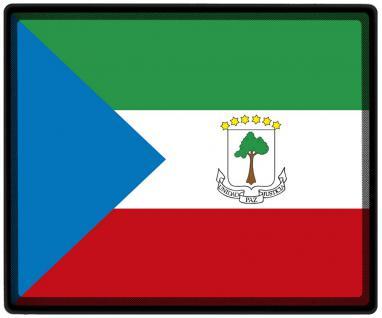 Mousepad Mauspad mit Motiv - Äquatorialguinea Fahne Fußball Fußballschuhe - 82002 - Gr. ca. 24 x 20 cm
