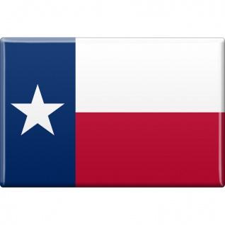 Magnet - US-Bundesstaat Texas - Gr. ca. 8 x 5, 5 cm - 37143 - Küchenmagnet