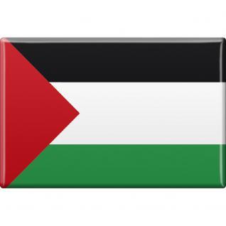 Kühlschrankmagnet - Länderflagge Palästina - Gr.ca. 8x5, 5 cm - 37801 - Magnet