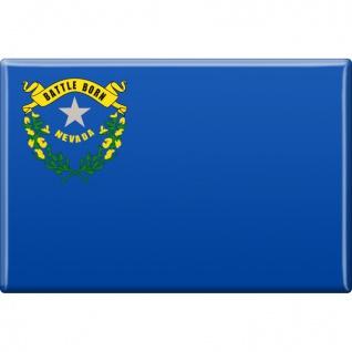 MAGNET - US-Bundesstaat Nevada - Gr. ca. 8 x 5, 5 cm - 37128/1 - Magnet Küchenmagnet