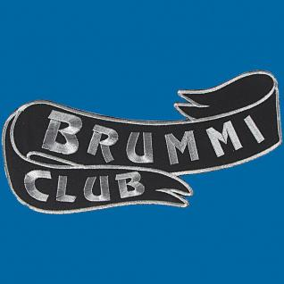 Rückenaufnäher - Brummi Club - 08522 - Gr. ca. 25 x 11 cm - Patches Stick Applikation