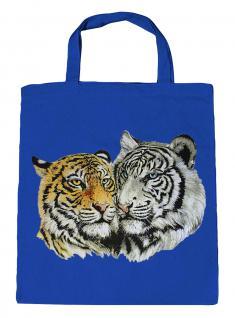 (08870/3-hellblau) Umweltfreundliche Baumwoll - Tasche , ca. 28 x 43 cm mit Aufdruck