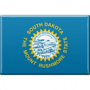 Magnet - US-Bundesstaat South Dakota - Gr. ca. 8 x 5, 5 cm - 37141 - Küchenmagnet