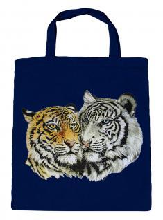 (08870/3-navy) Umweltfreundliche Baumwoll - Tasche , ca. 28 x 43 cm mit Aufdruck