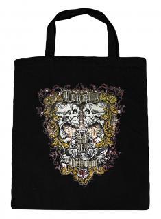 (U10834)Umweltfreundliche Baumwoll - Tasche , ca. 28 x 43 cm mit Aufdruck in 7 Farben schwarz