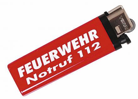 Feuerzeug Einwegfeuerzeug - Feuerwehr - 01054