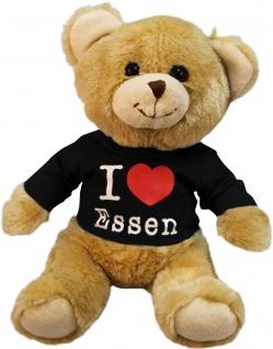 Plüsch - Teddybär mit Shirt - I Love Essen - 27069 - Größe ca 26cm