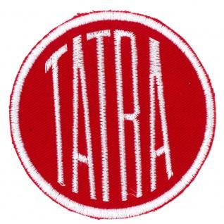 Aufnäher Applikation Emblem Abzeichen TATRA - 01629 Gr. ca 7, 5cm