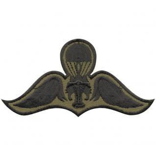 AUFNÄHER - ABZEICHEN - Fallschirmspringer - 03191 - Gr. ca. 9 x 5 cm - Patches Stick Applikation