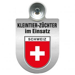 Einsatzschild Windschutzscheibe -Kleintierzüchter im Einsatz - 309360-22 - Region Schweiz