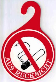 Herma 3 Aufkleber 5736 Nicht Rauchverbot Rauchen verboten wetterfest 3 4 6 cm
