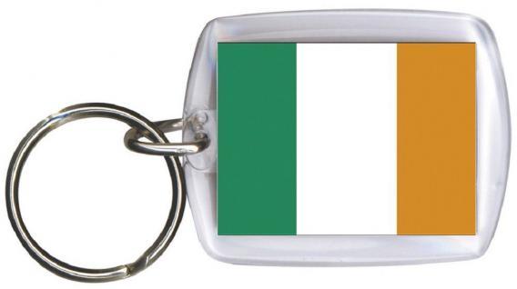 Schlüsselanhänger - IRLAND - Gr. ca. 4x5cm - 81030 - WM Länder