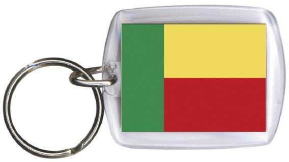 Schlüsselanhänger - BENIN - 81025 -WM Länder