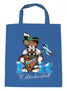 Kinder-Stofftasche - I love it Oktoberfest - 12370 - Baumwolltasche - Gr. ca. 23cm x 26cm
