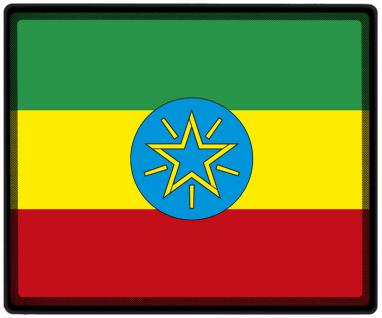 Mousepad Mauspad mit Motiv - Äthiopien Fahne Fußball Fußballschuhe - 82003 - Gr. ca. 24 x 20 cm