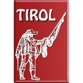 Kühlschrankmagnet - Tirol - Gr. ca. 8 x 5, 5 cm - 38114 - Küchenmagnet