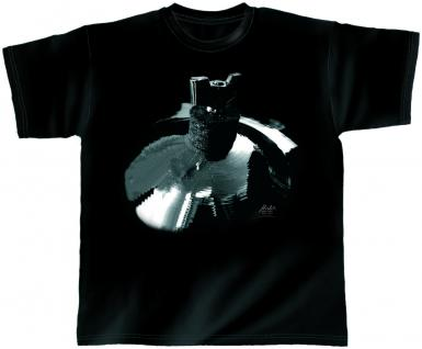 Designer T-Shirt - Surfing Symbal - von ROCK YOU MUSIC SHIRTS - 10380 - Gr. L