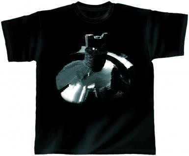 Designer T-Shirt - Surfing Symbal - von ROCK YOU MUSIC SHIRTS - 10380 - Gr. S