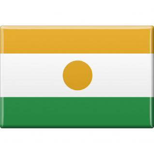Kühlschrankmagnet - Länderflagge Niger - Gr.ca. 8x5, 5 cm - 38095 - Magnet