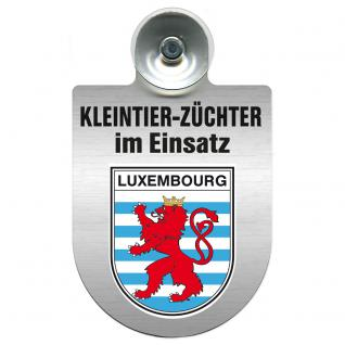 Einsatzschild Windschutzscheibe -Kleintierzüchter im Einsatz - 309360-21 - Region Luxembourg