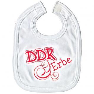 Baby-Lätzchen mit Druckmotiv - DDR Erbe - 07030 weiß