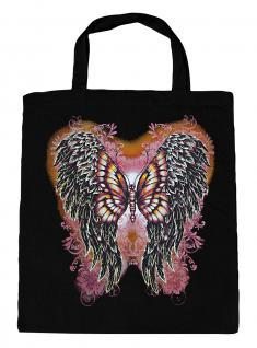 (U10807)Umweltfreundliche Baumwoll - Tasche , ca. 28 x 43 cm mit Aufdruck in 7 Farben schwarz