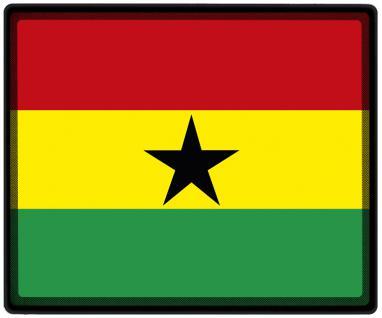 Mousepad Mauspad mit Motiv - Ghana Fahne Fußball Fußballschuhe - 82054 - Gr. ca. 24 x 20 cm