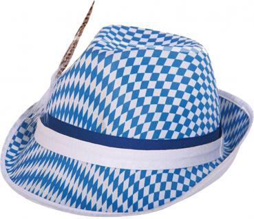 (61201) Hut mit Bayrischem Rautendesign